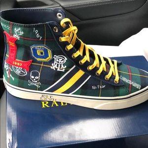 BRAND NEW IN THE BOX. Polo Solomon chuck sneaker